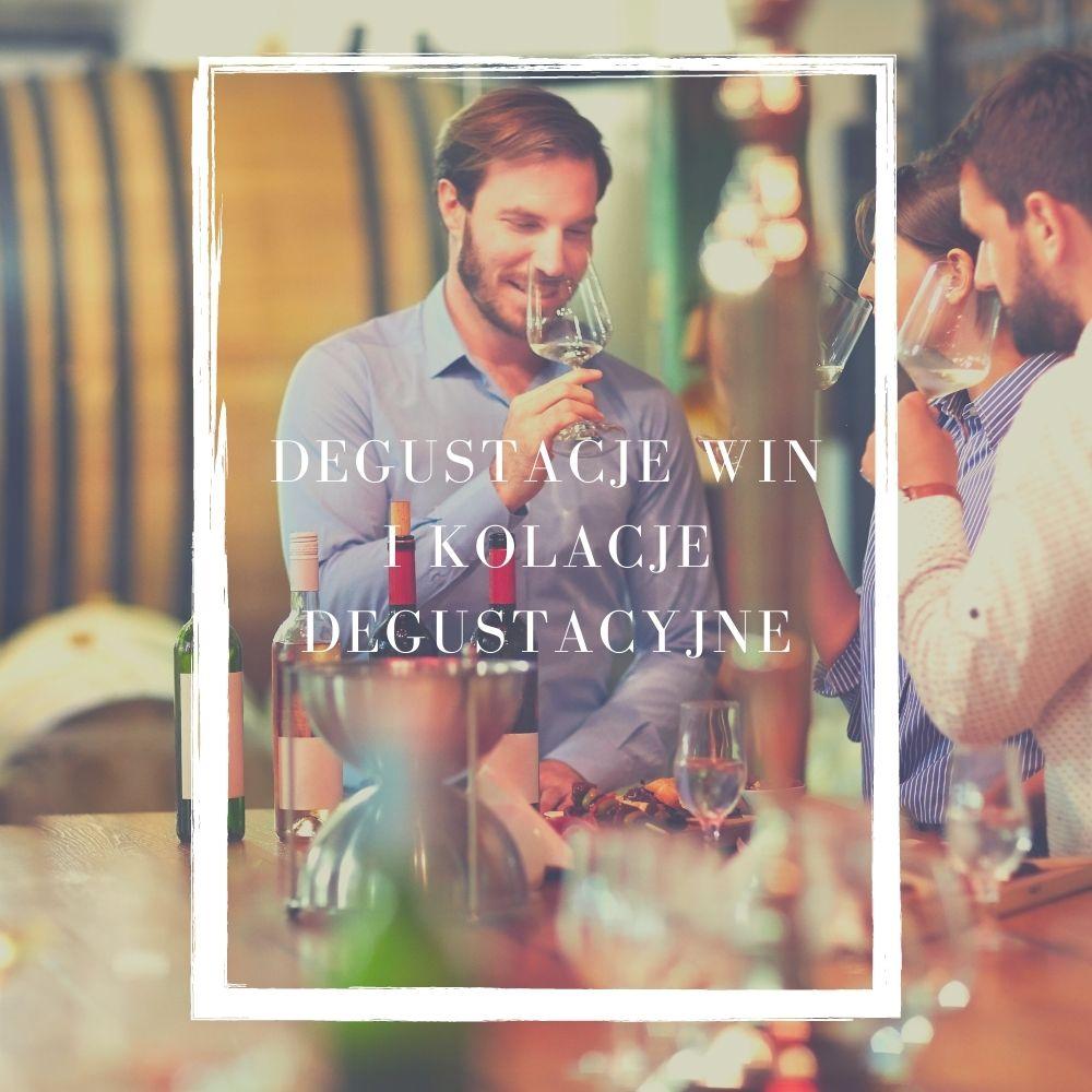 degustacje win i kolecje degustacyjne