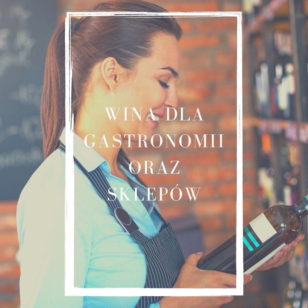 wina dla gastronomii oraz sklepów